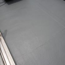 バルコニー床 シート用トップコート防水工事